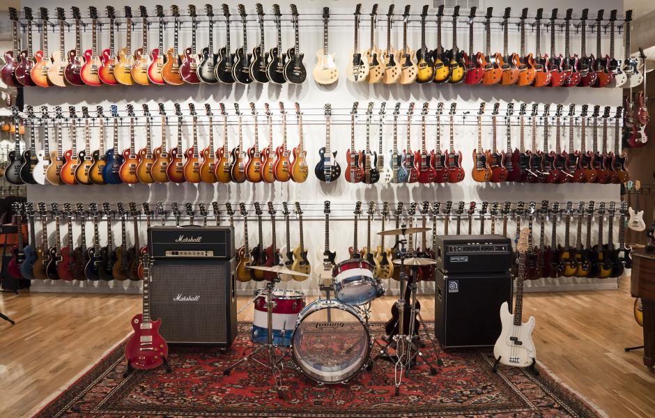 Cho thuê guitar điện, guitar thùng, guitar bass